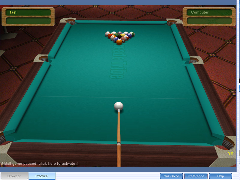 Arcadetribe Pool 3D 1.400 full